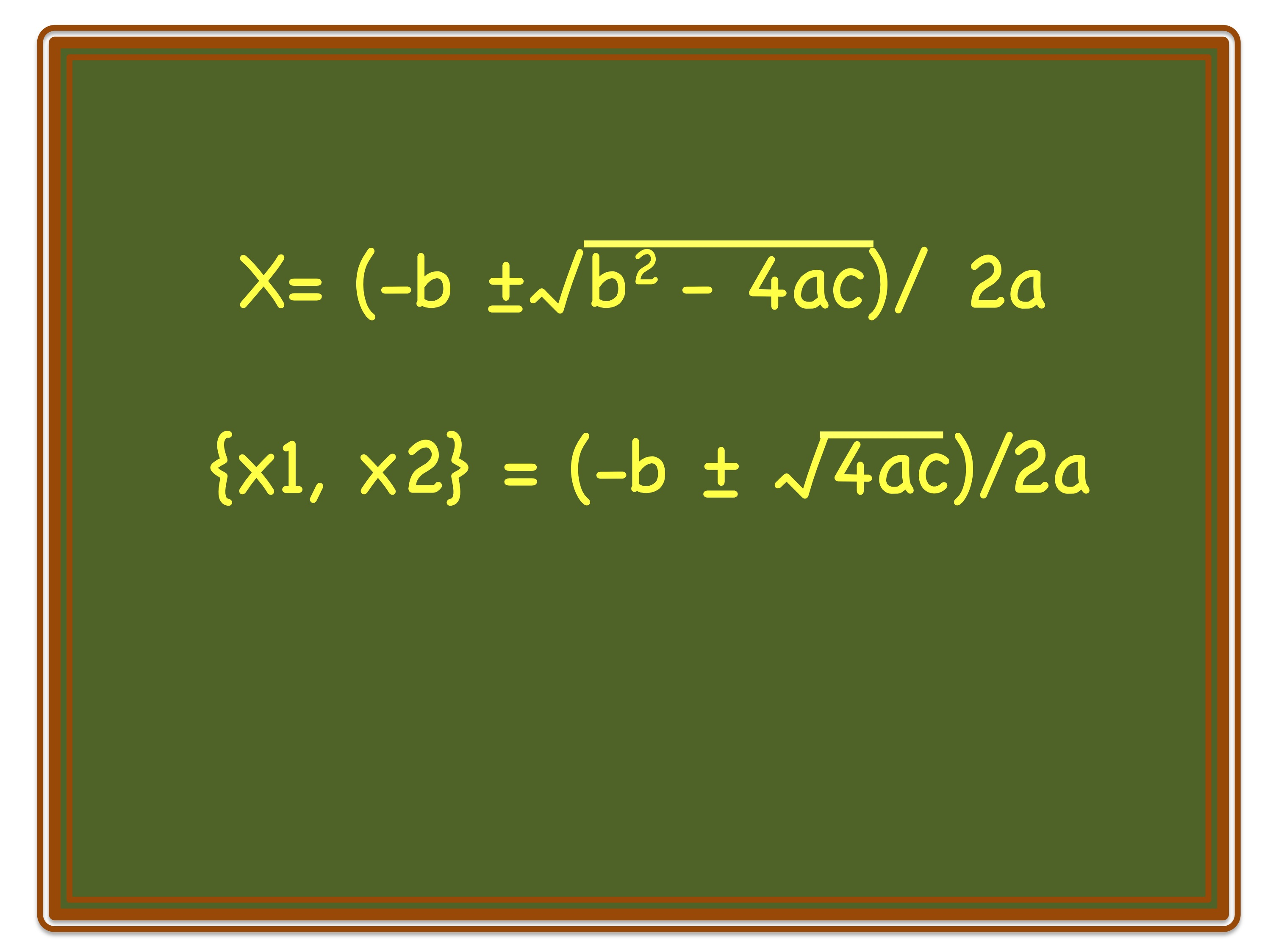 How To Convert A Quadratic Formula To Roots Form By