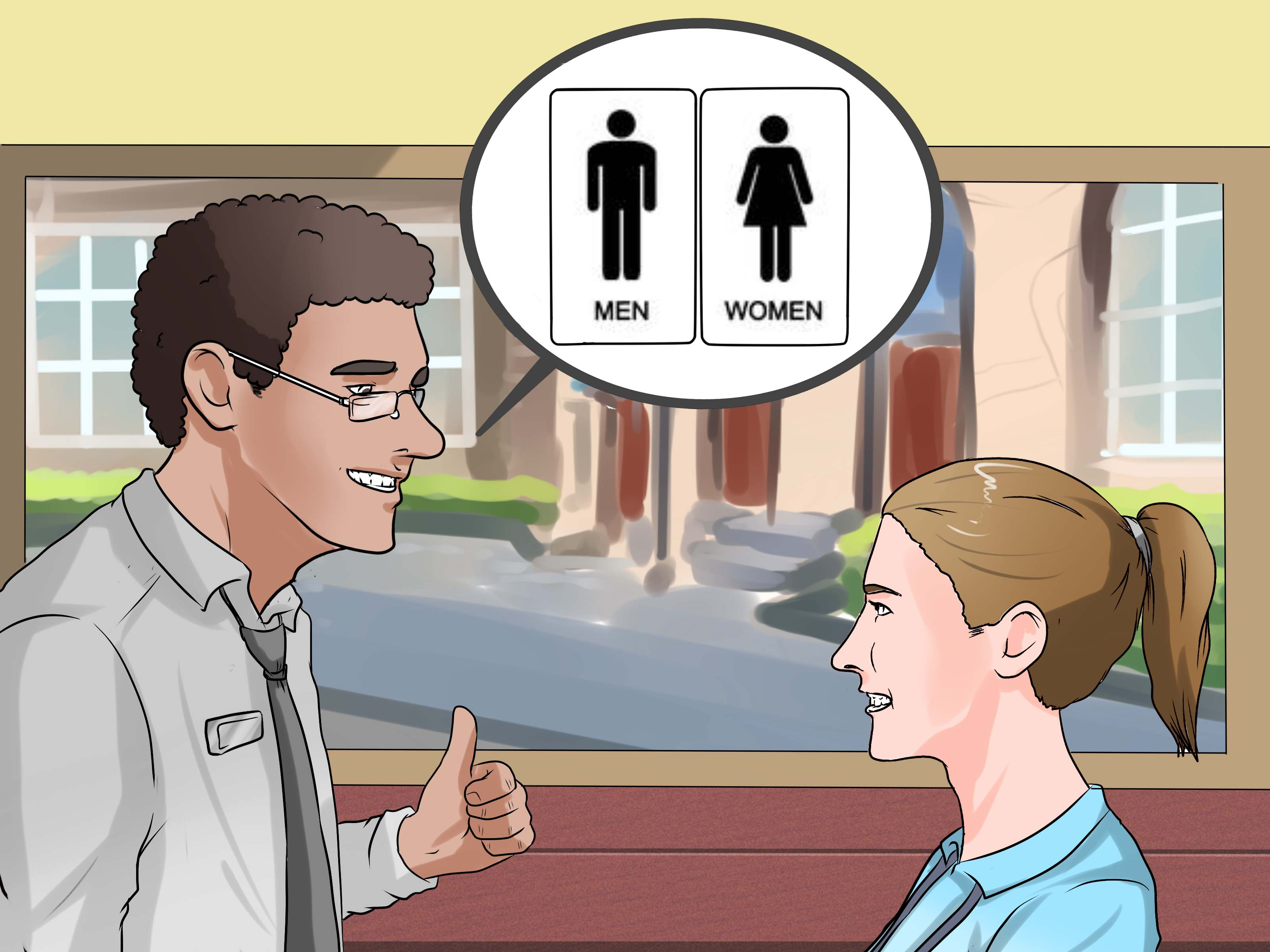 3 Ways To Get Permission To Use The Bathroom In School