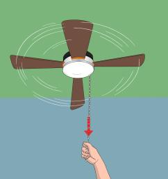 how to replace a ceiling fan pull chain switch [ 3200 x 2400 Pixel ]