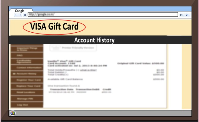 How To Transfer A Visa Gift Card Balance To Your Bank Account With Square