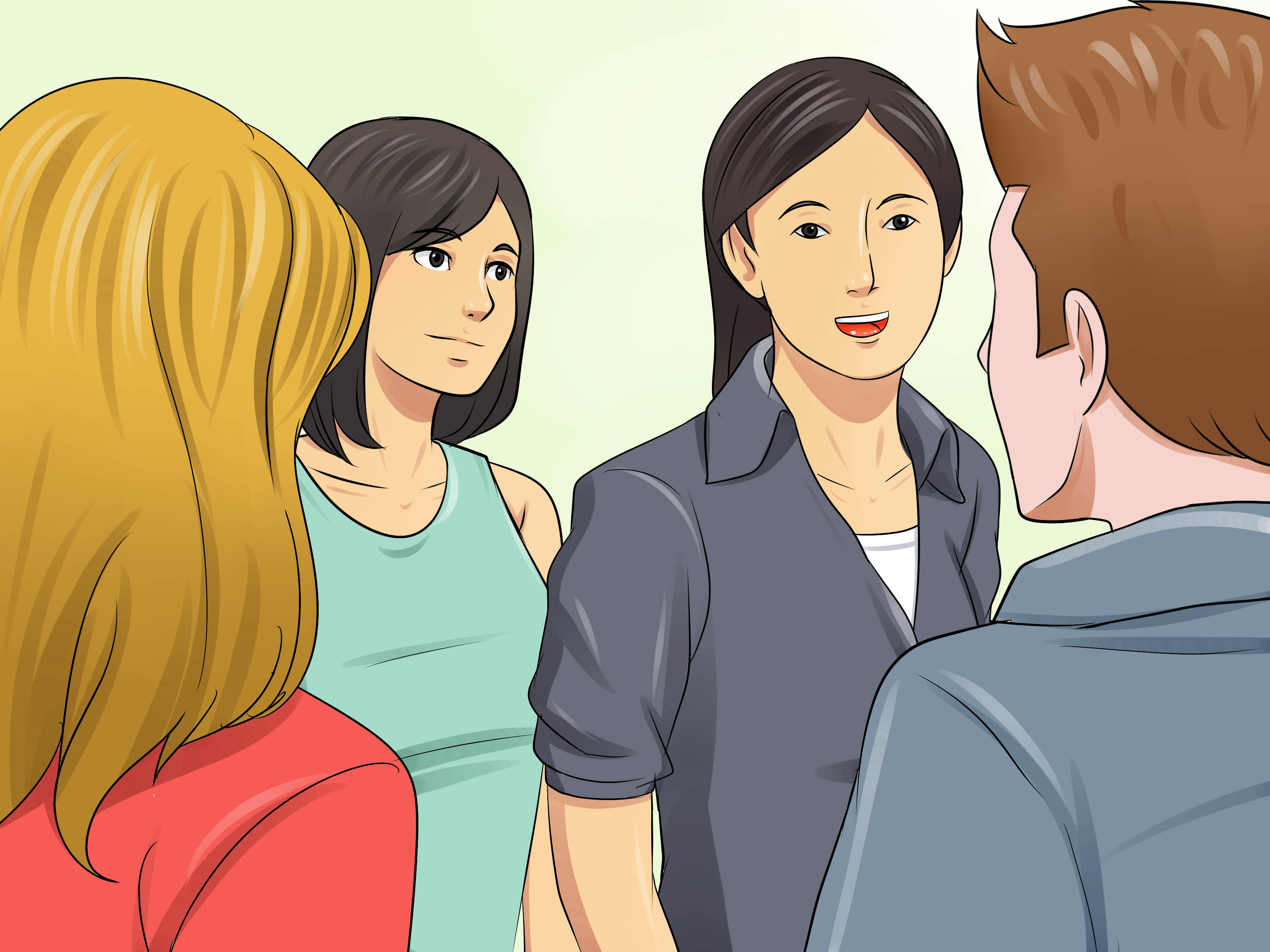 How To Make New Friends In High School With Pictures
