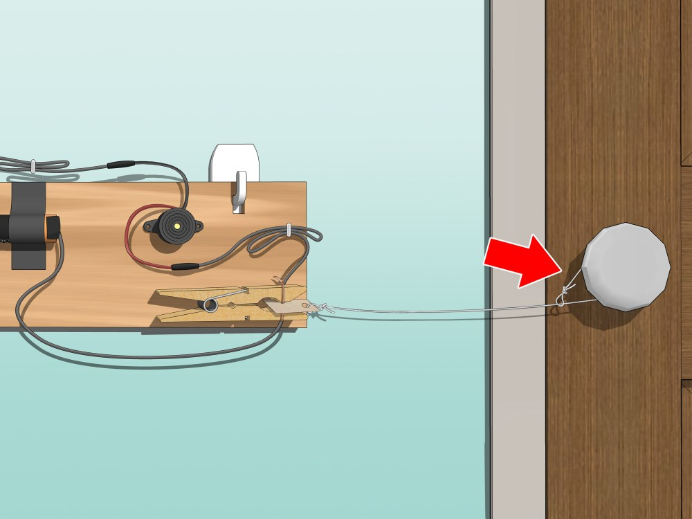 medium resolution of how to make a door alarm