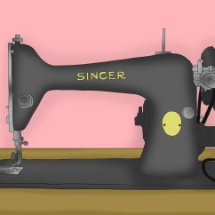 Elna Sewing Machine Parts Diagram 2005 Jeep Grand Cherokee Stereo Wiring How To Oil A 9 Steps With Pictures Wikihow