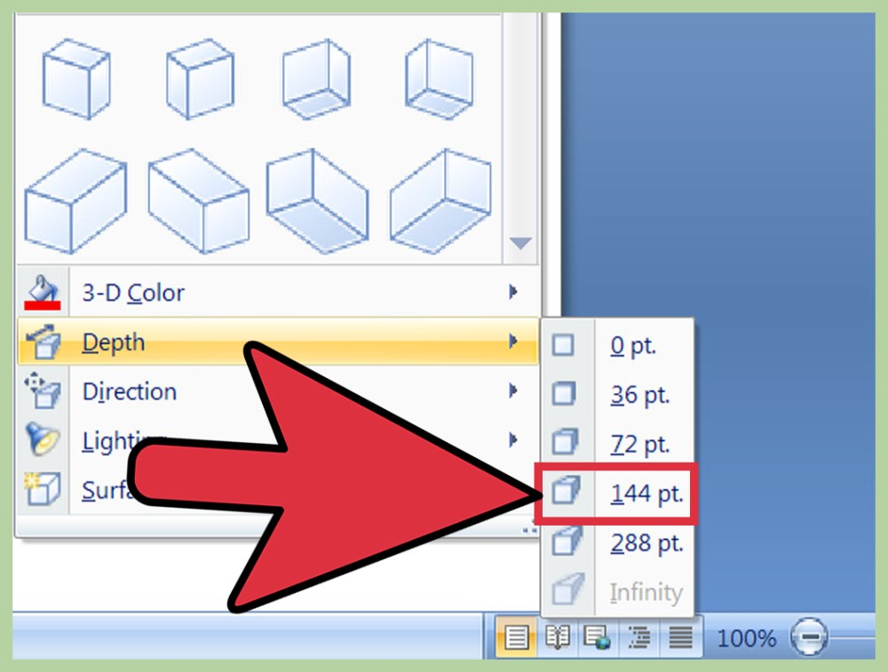 medium resolution of how to create a 3d object in microsoft word
