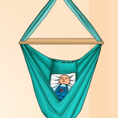 Hanging Chair For Baby Folding Steel How To Make A Hammock Swing 11 Steps With Pictures