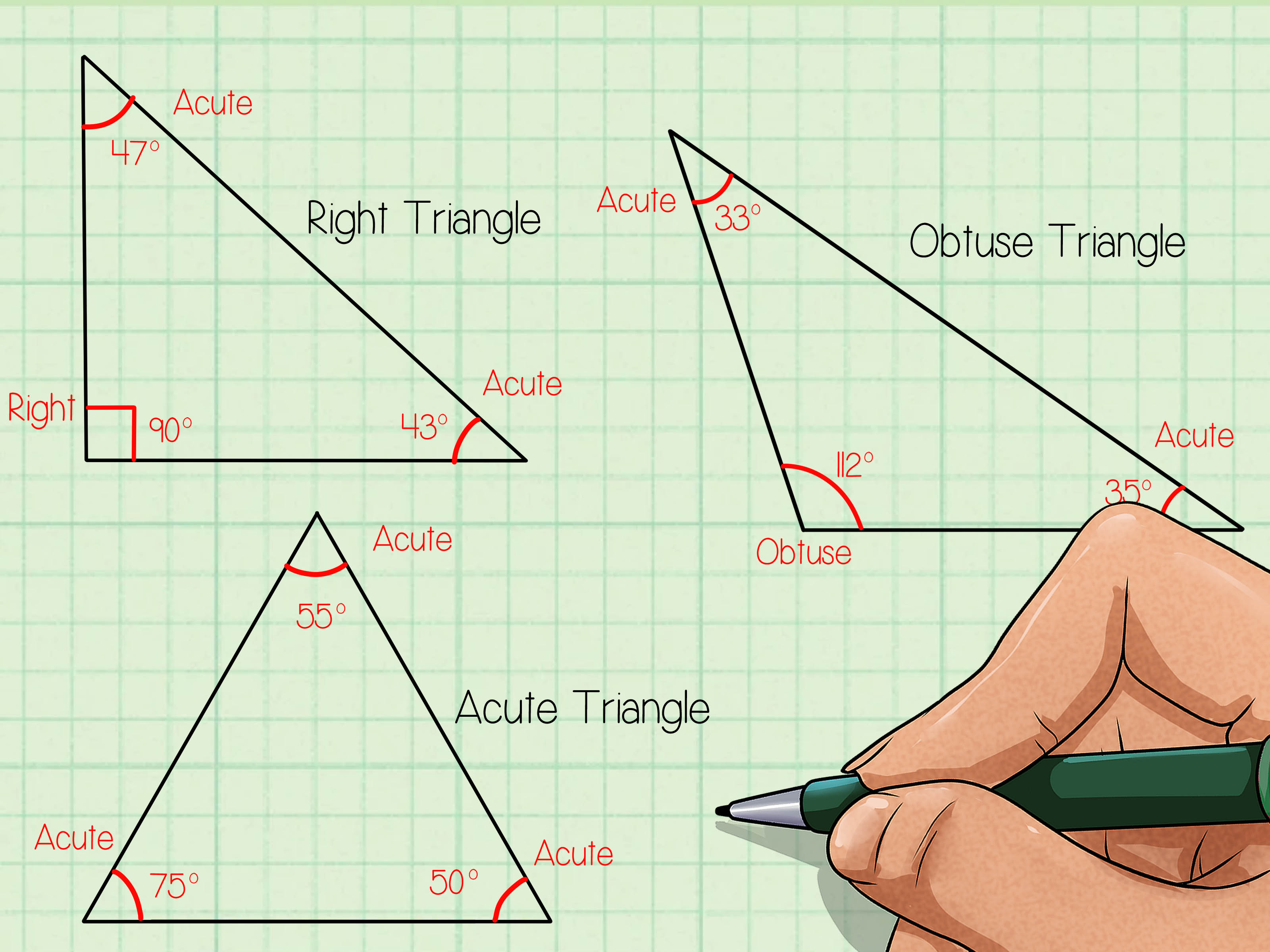How To Classify Triangles 9 Steps With Pictures