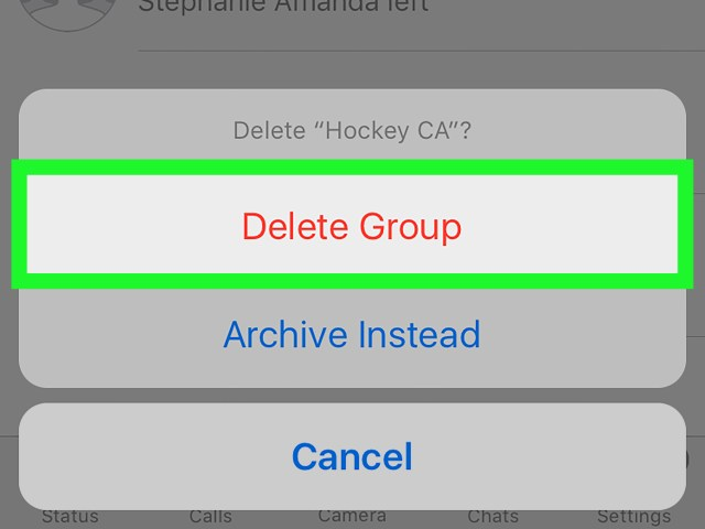 How to Delete a Group on WhatsApp on iPhone or iPad: 6 Steps