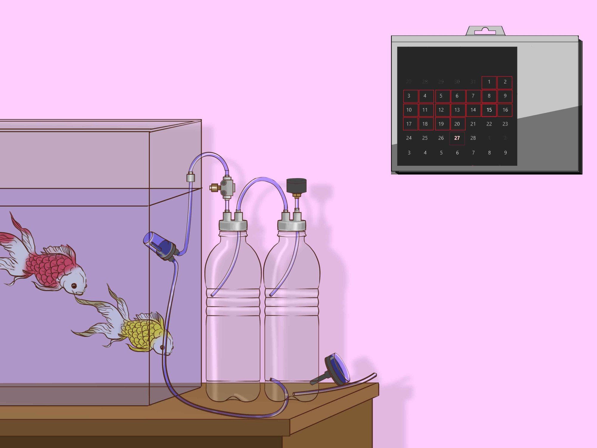 hight resolution of how to make a co2 reactor for an aquarium