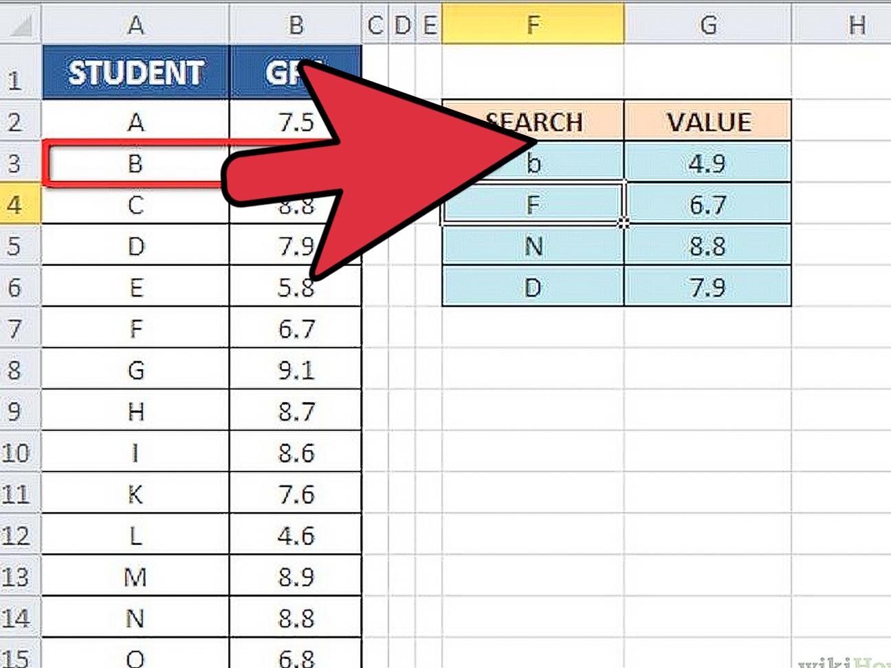 3 Modi Per Usare La Funzione Cercart In Excel