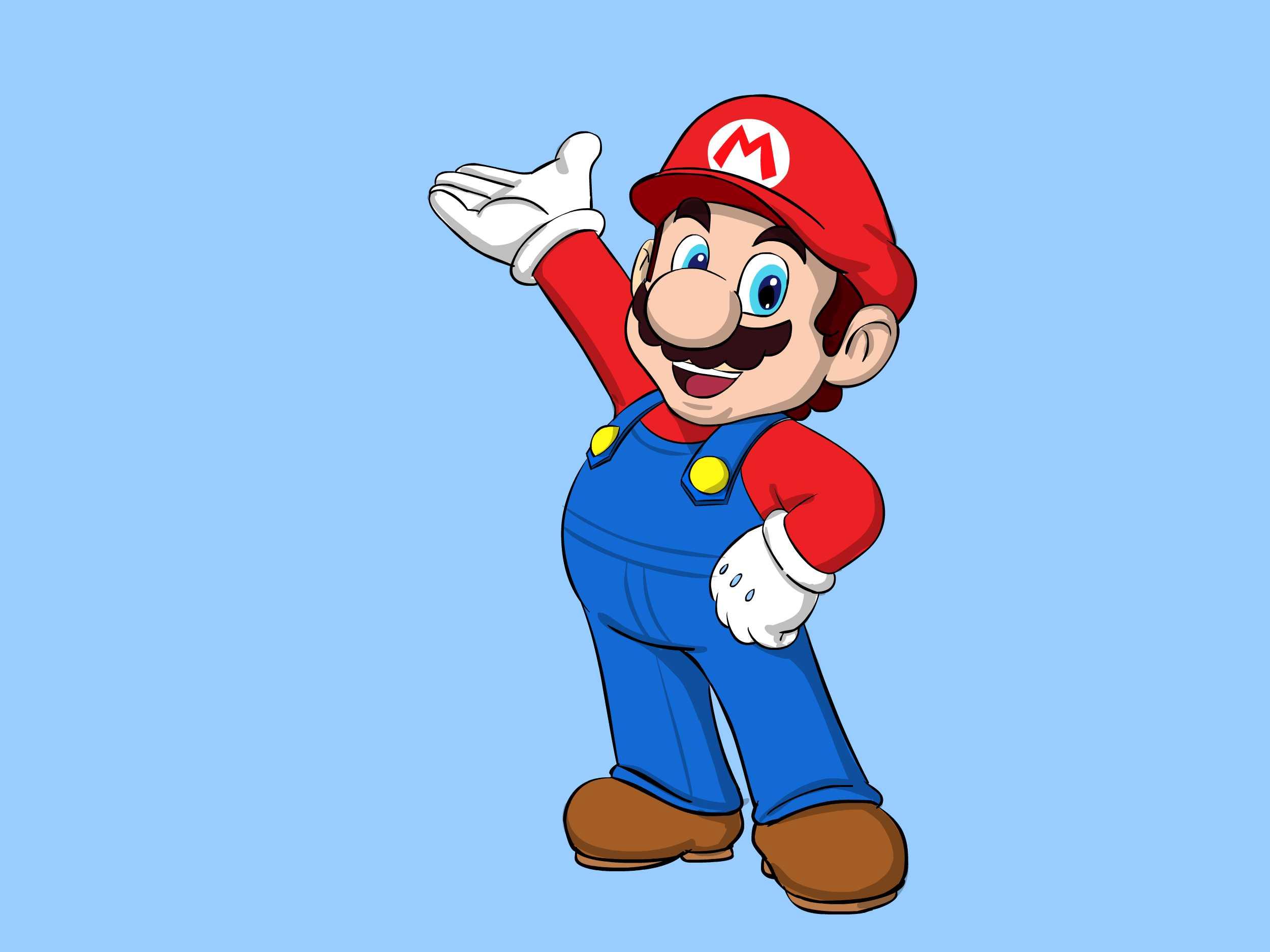 Figuren aus Super Mario zeichnen  wikiHow