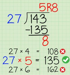 How to Divide by a Two‐Digit Number (with Pictures) - wikiHow [ 2400 x 3200 Pixel ]