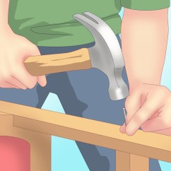 Fixing Wooden Chairs Oversized Zero Gravity Lounge Chair How To Fix A Squeaky Desk 12 Steps With Pictures