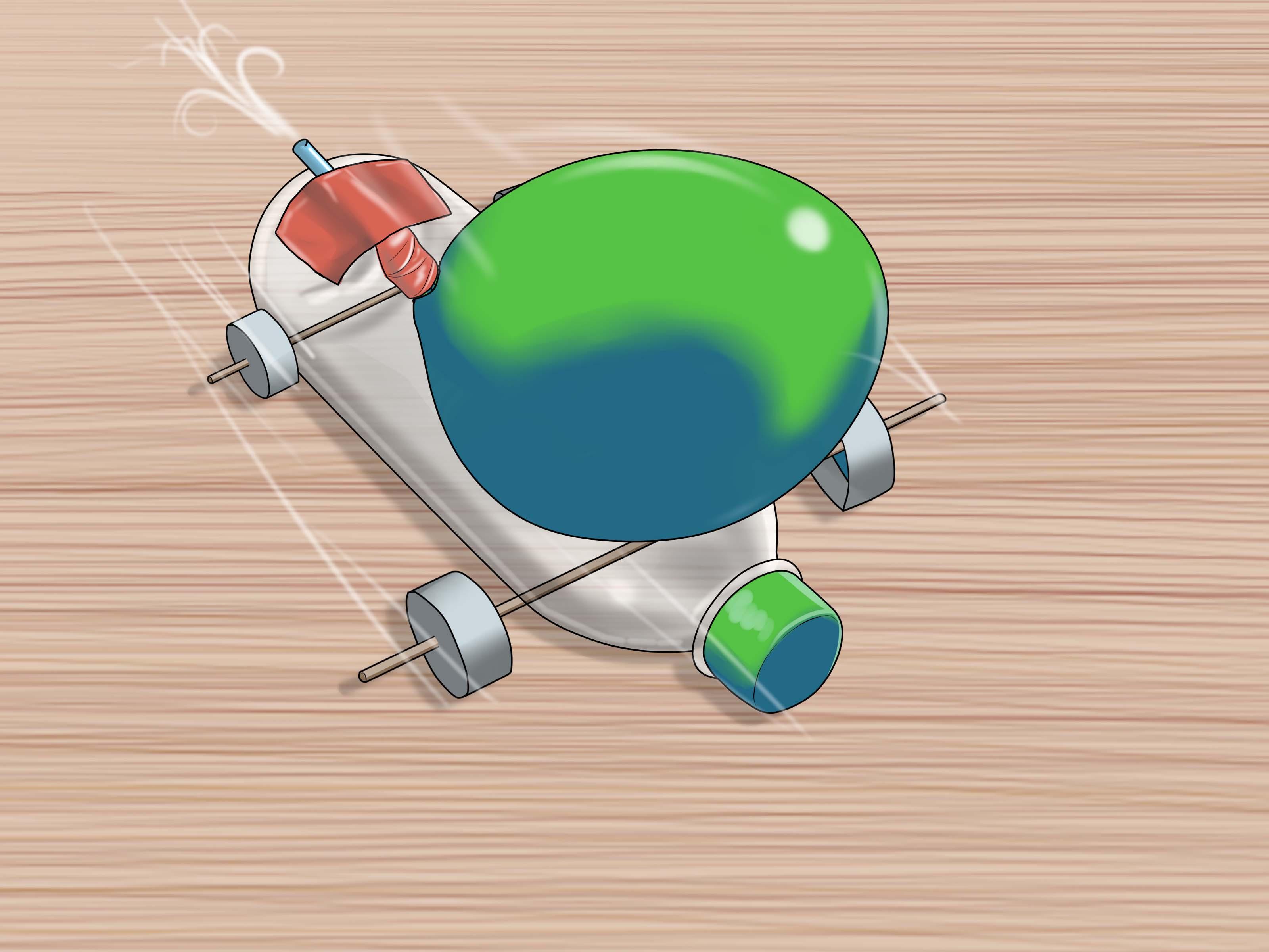How To Make A Balloon Rocket Car