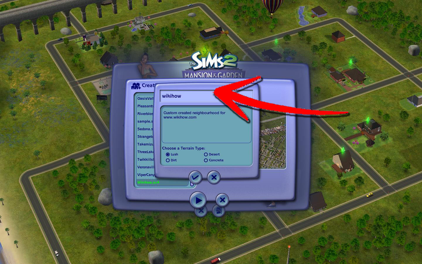 How To Create A Neighborhood In The Sims 2 10 Steps