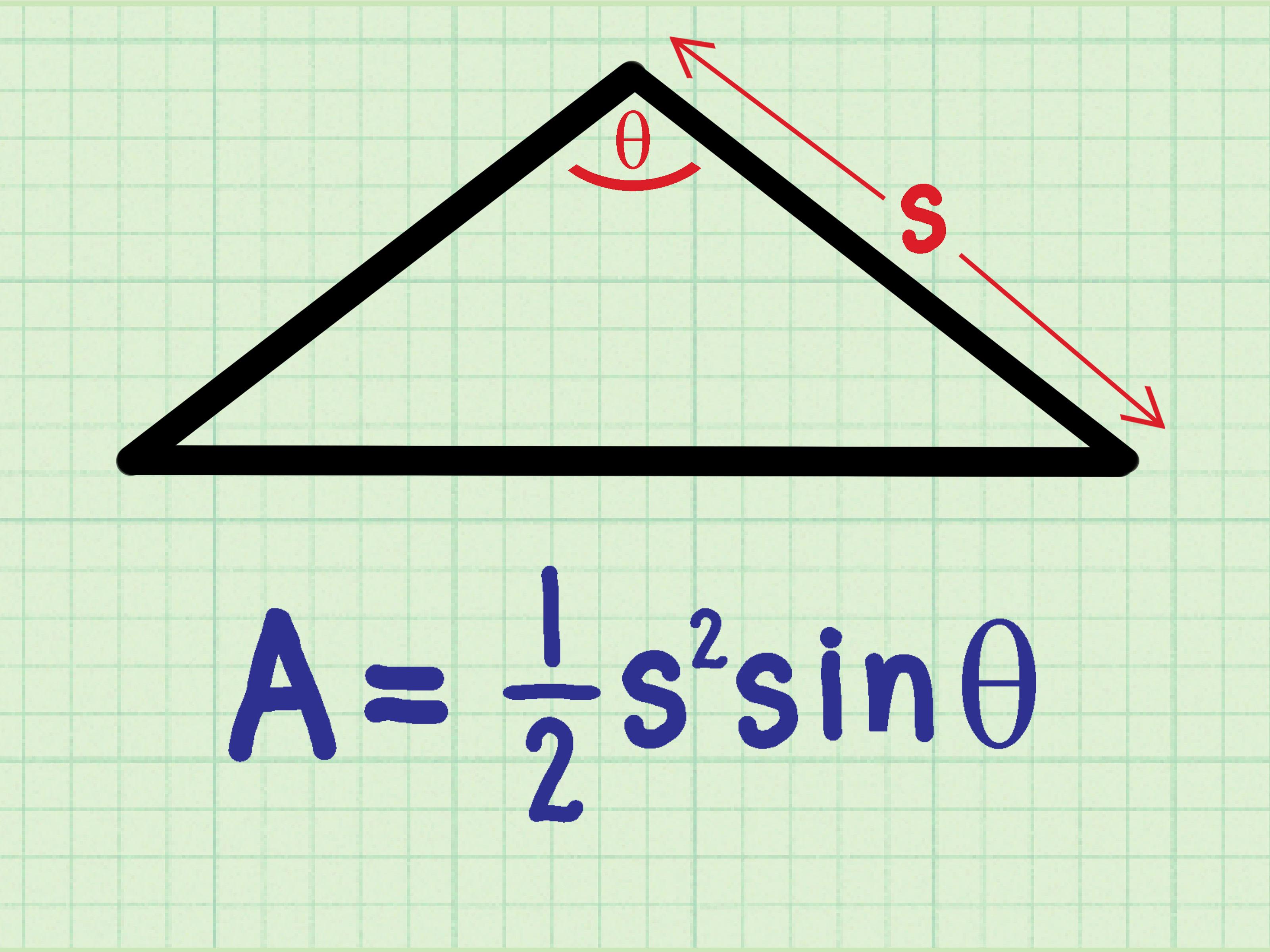 Come Trovare L Area Di Un Triangolo Isoscele