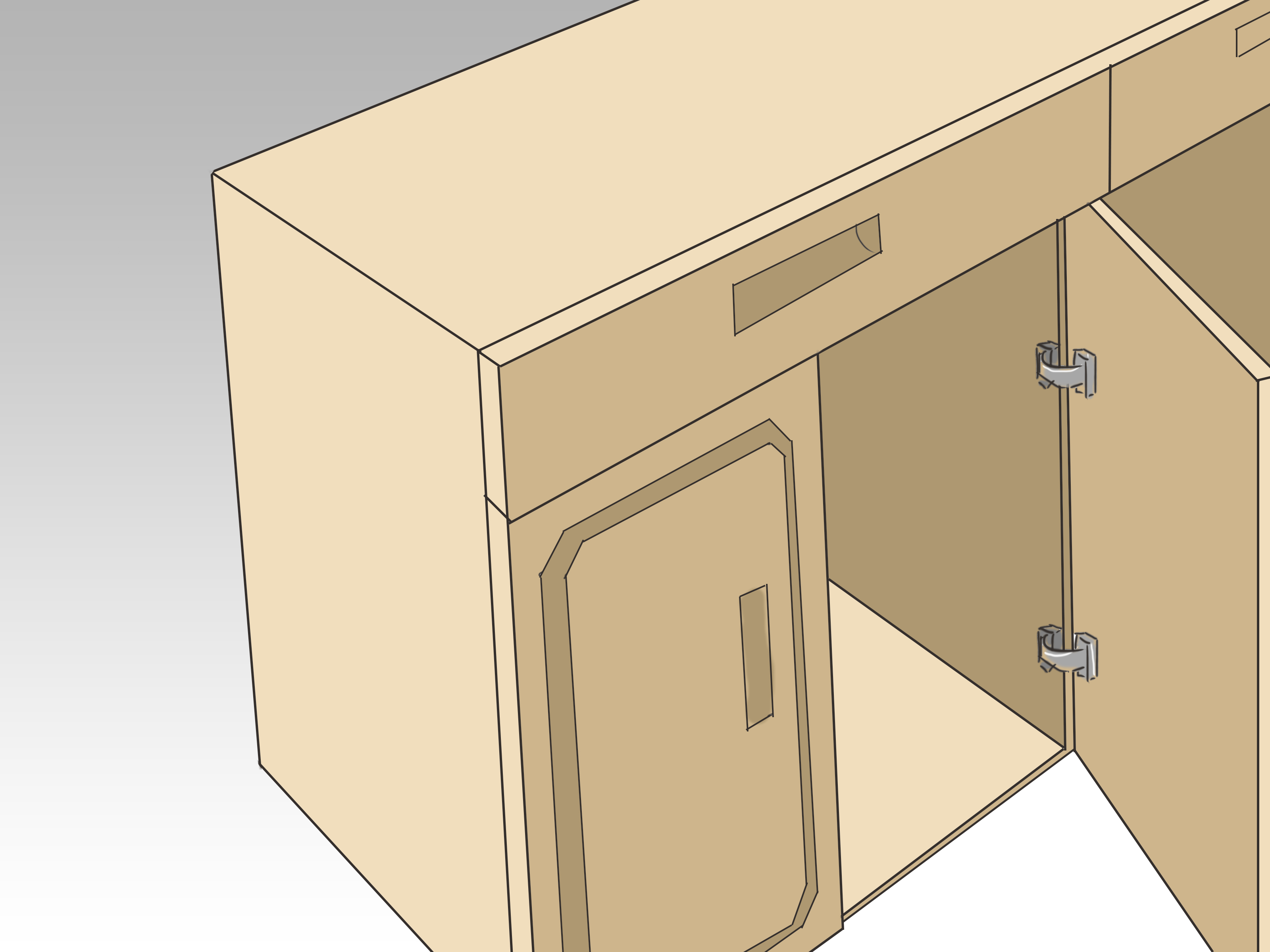 building kitchen cabinets cabinet boxes only how to build 15 steps with pictures