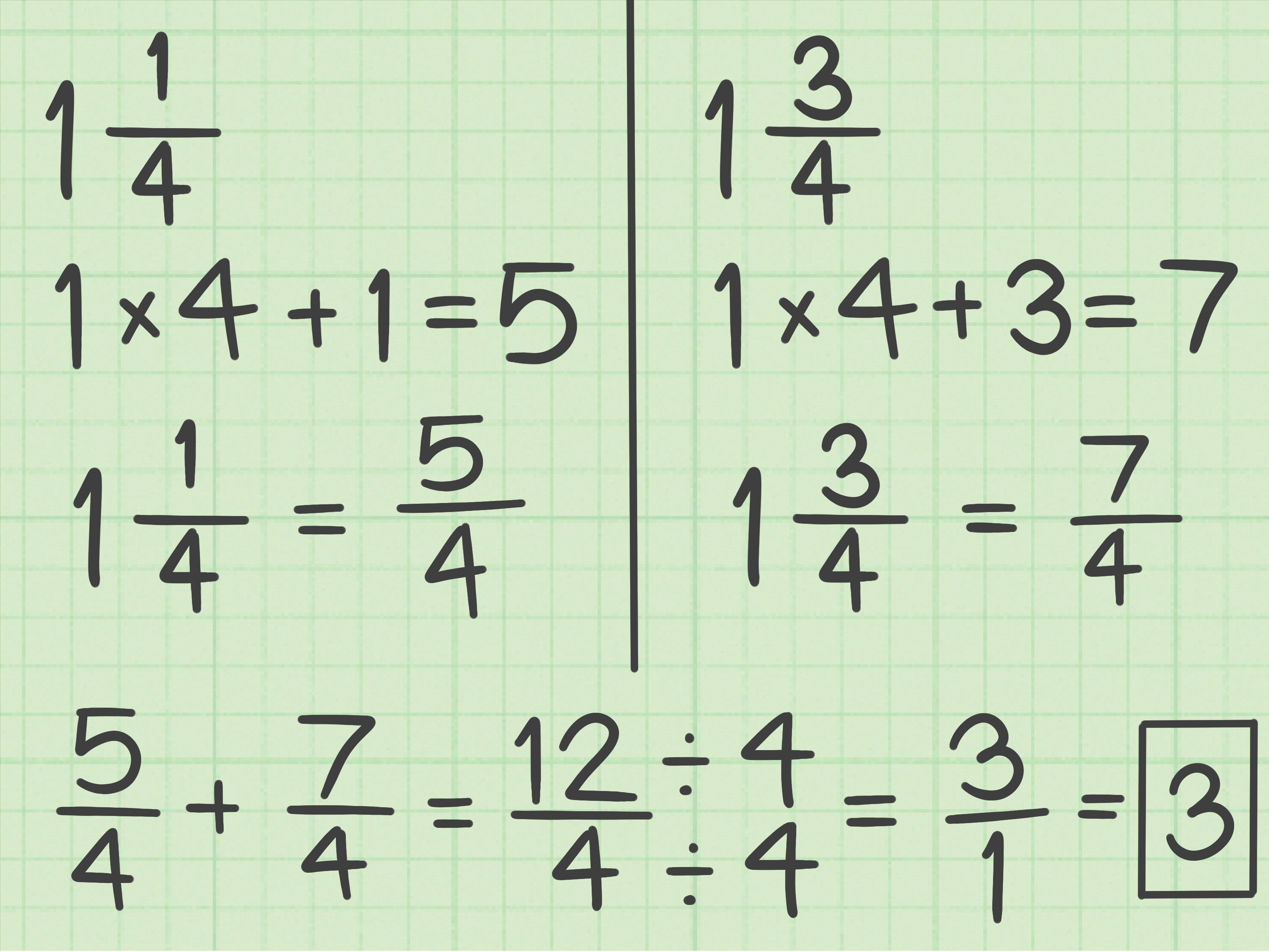 How To Rename Mixed Numbers In Simplest Form 10 Steps