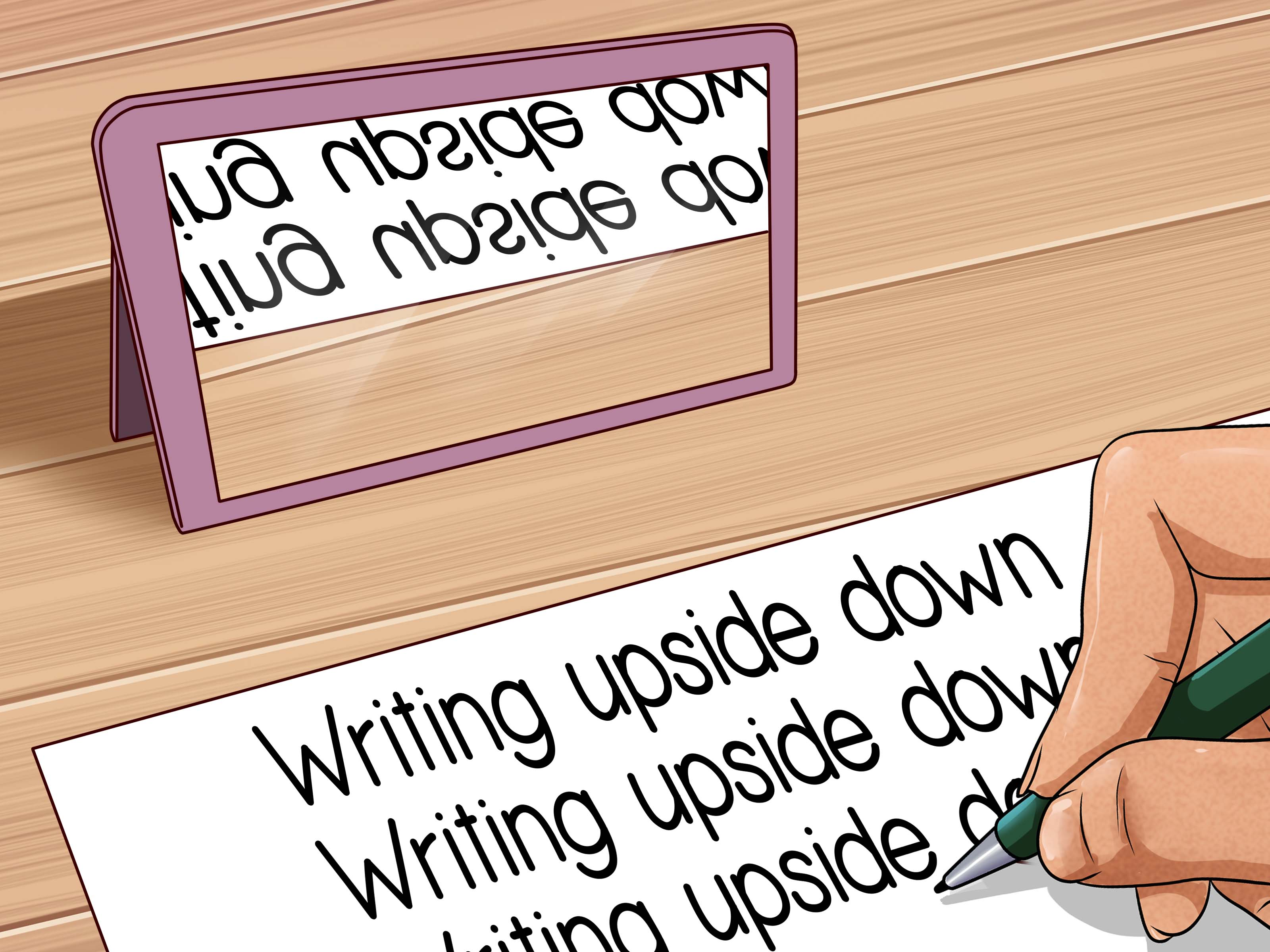 How To Write Upside Down 8 Steps With Pictures