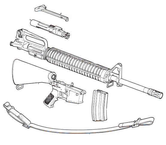 How to Clean an M16 Service Rifle: 12 Steps (with Pictures)
