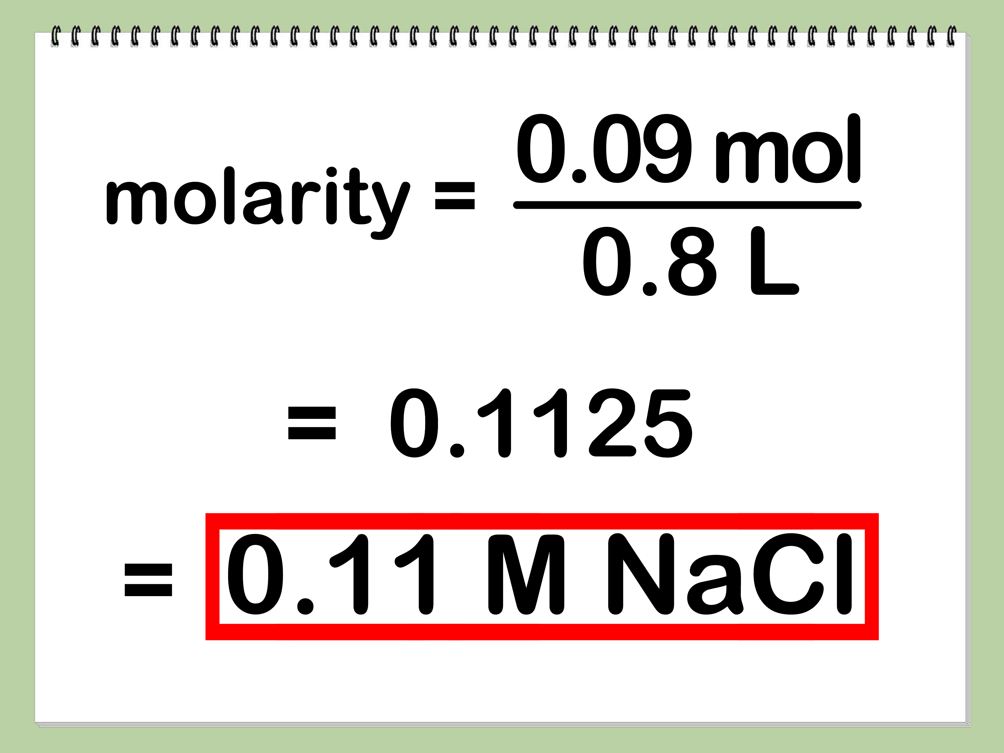 4 Ways To Calculate Molarity