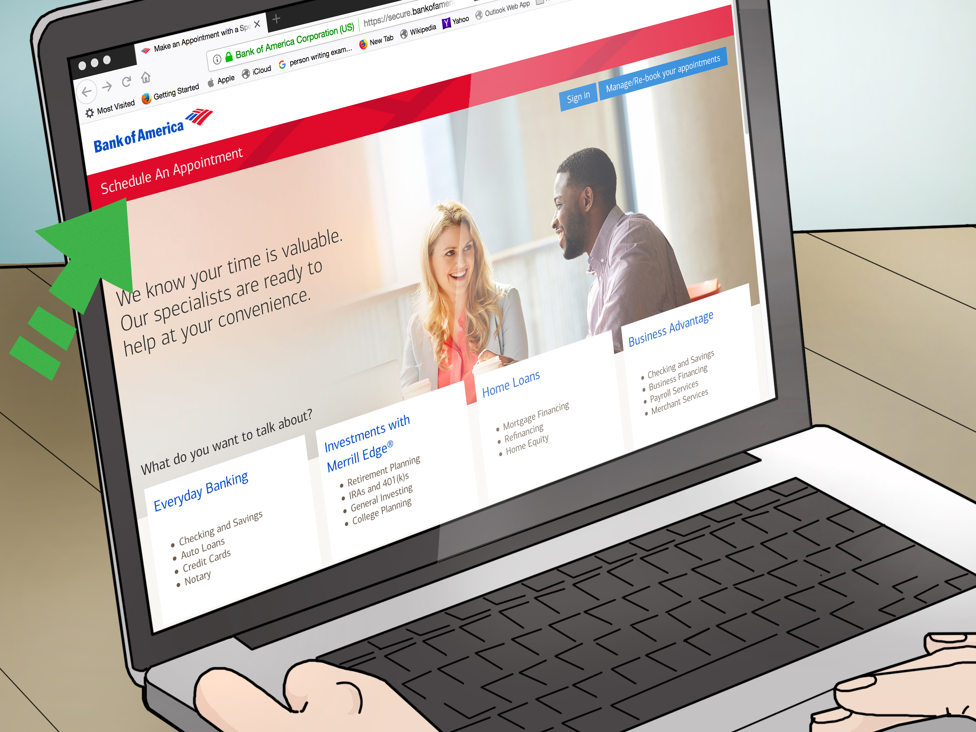 3 Ways To Contact Bank Of America Wikihow