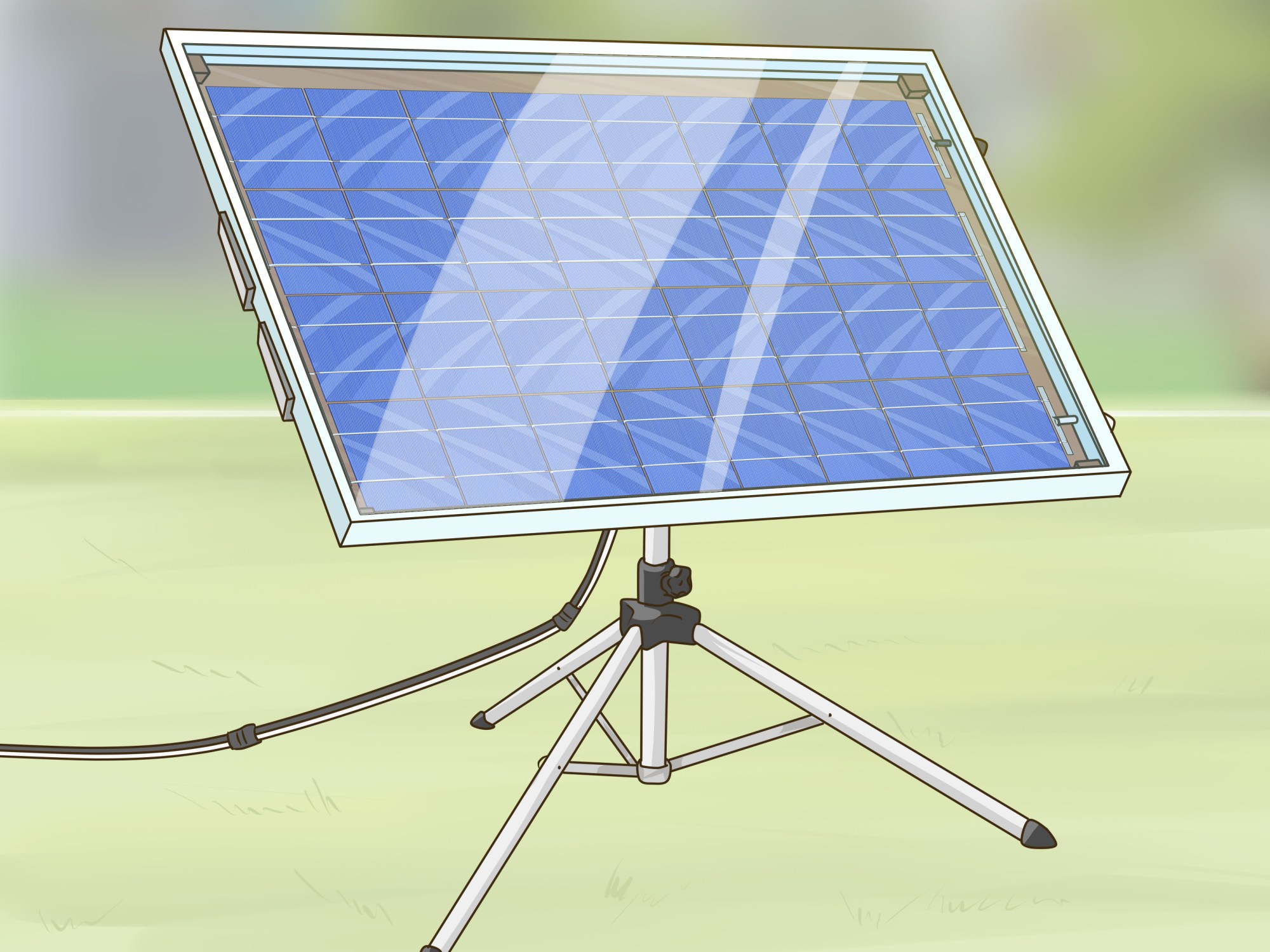hight resolution of how to build a solar panel