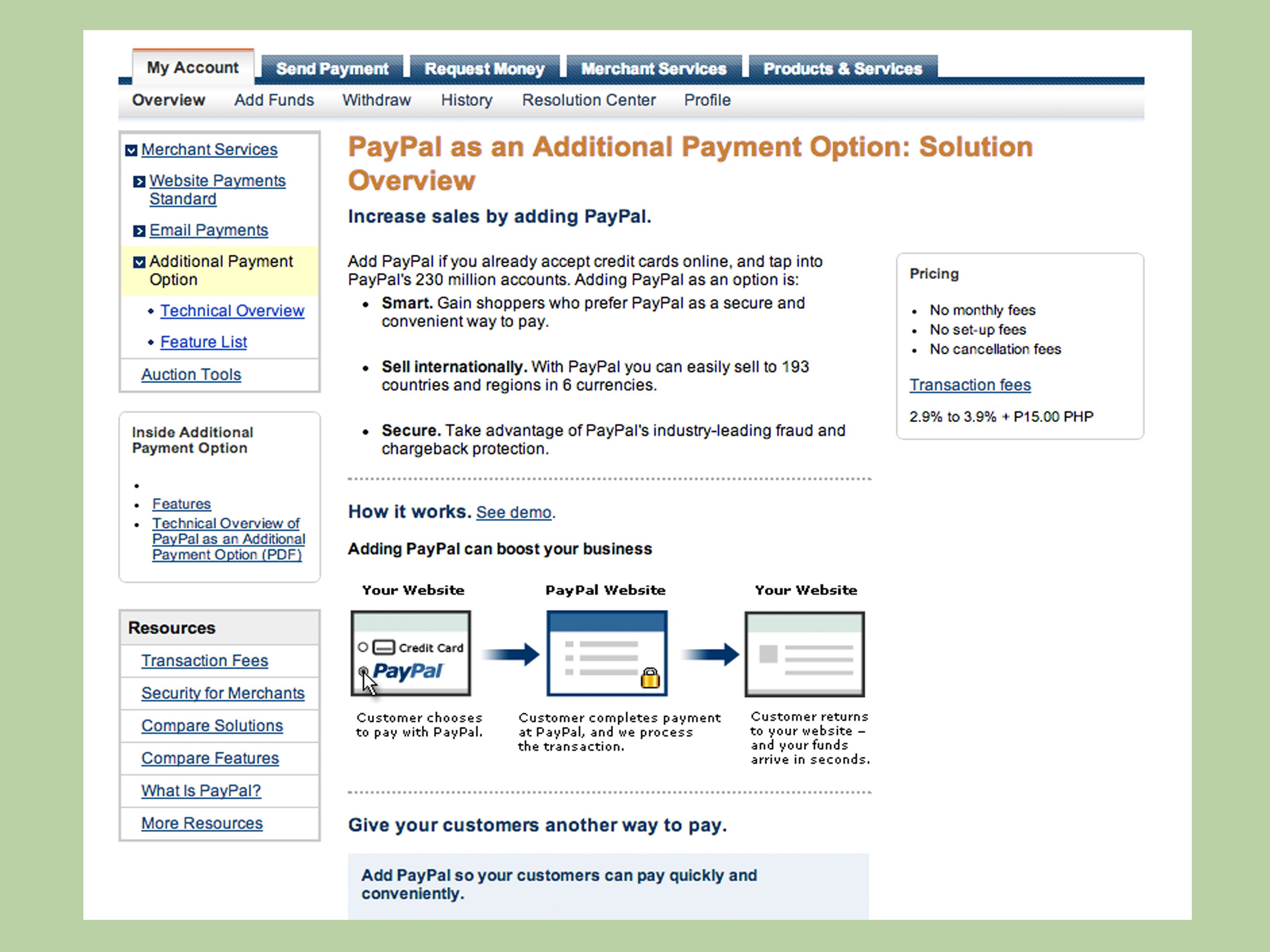 How to Accept Payments from Paypal 3 Steps with Pictures