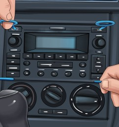 how to remove the radio in a 2002 vw beetle tdi [ 3200 x 2400 Pixel ]