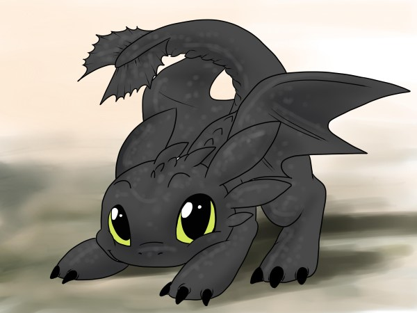 Cute Toothless Dragon Drawings