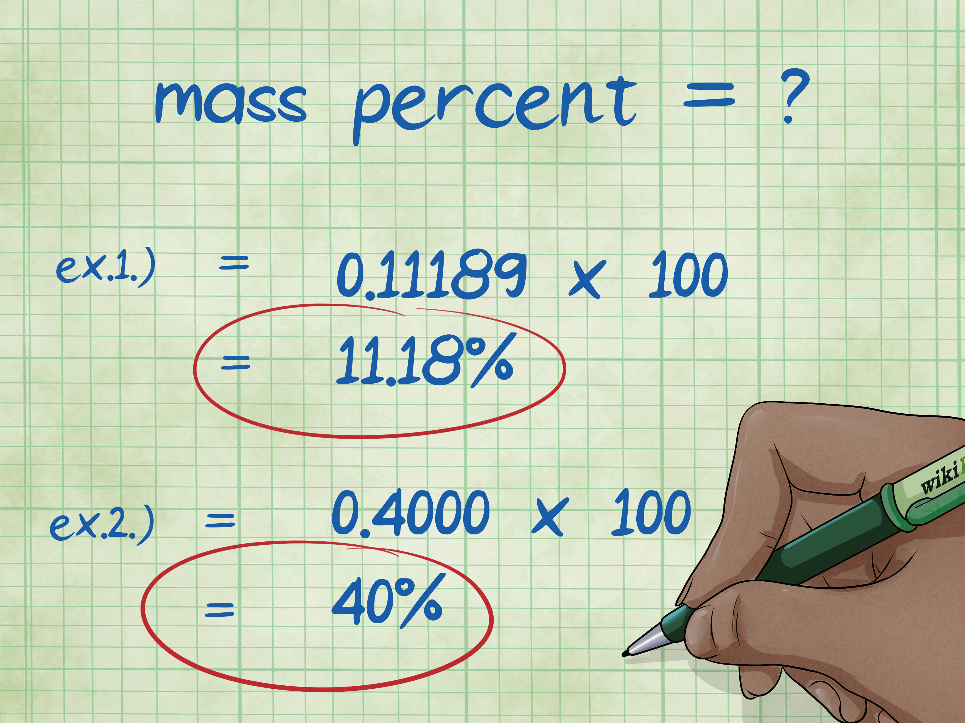 How To Calculate Mass Percent 13 Steps With Pictures