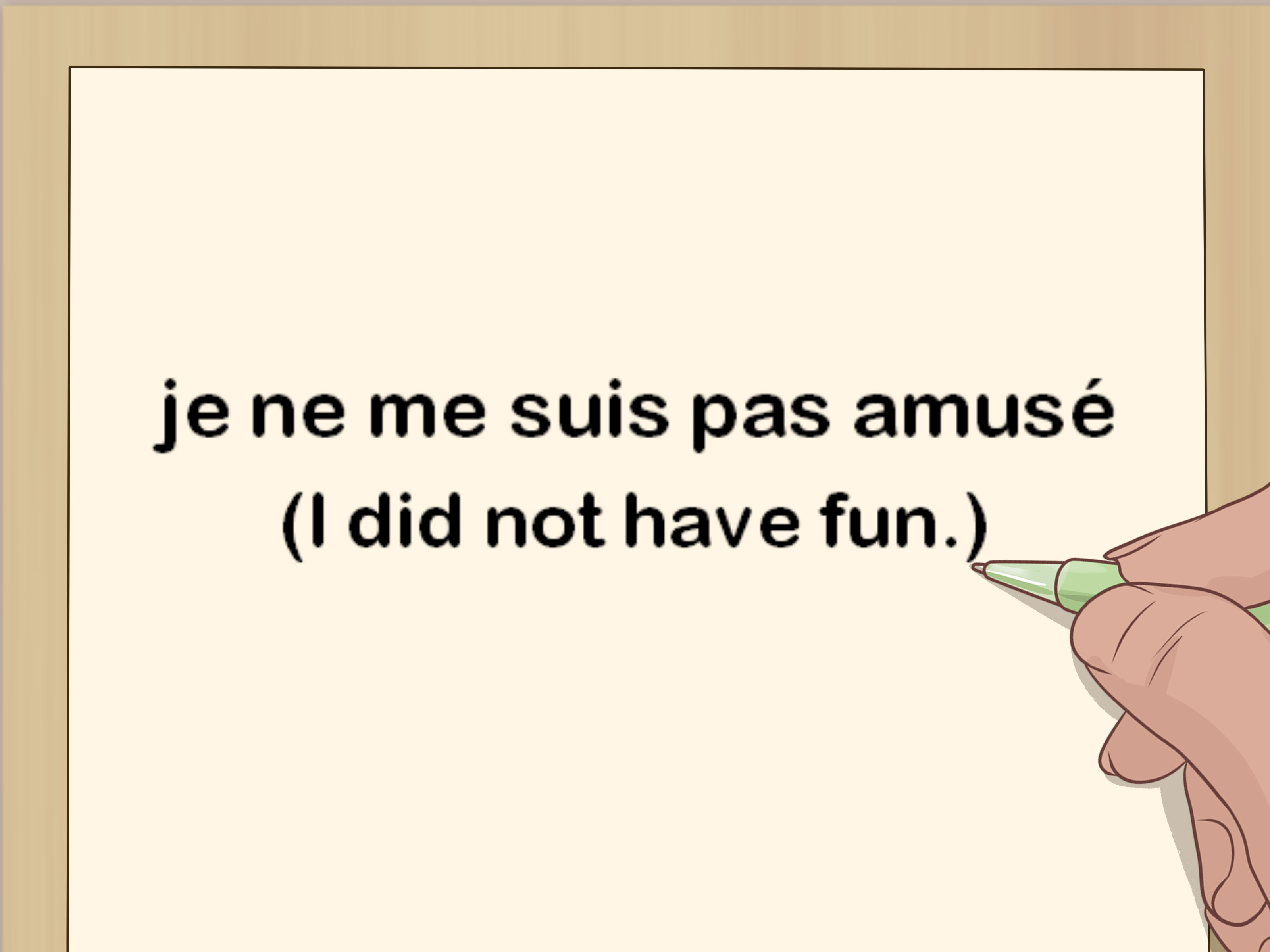 4 Ways To Conjugate French Verbs Into Passe Compose