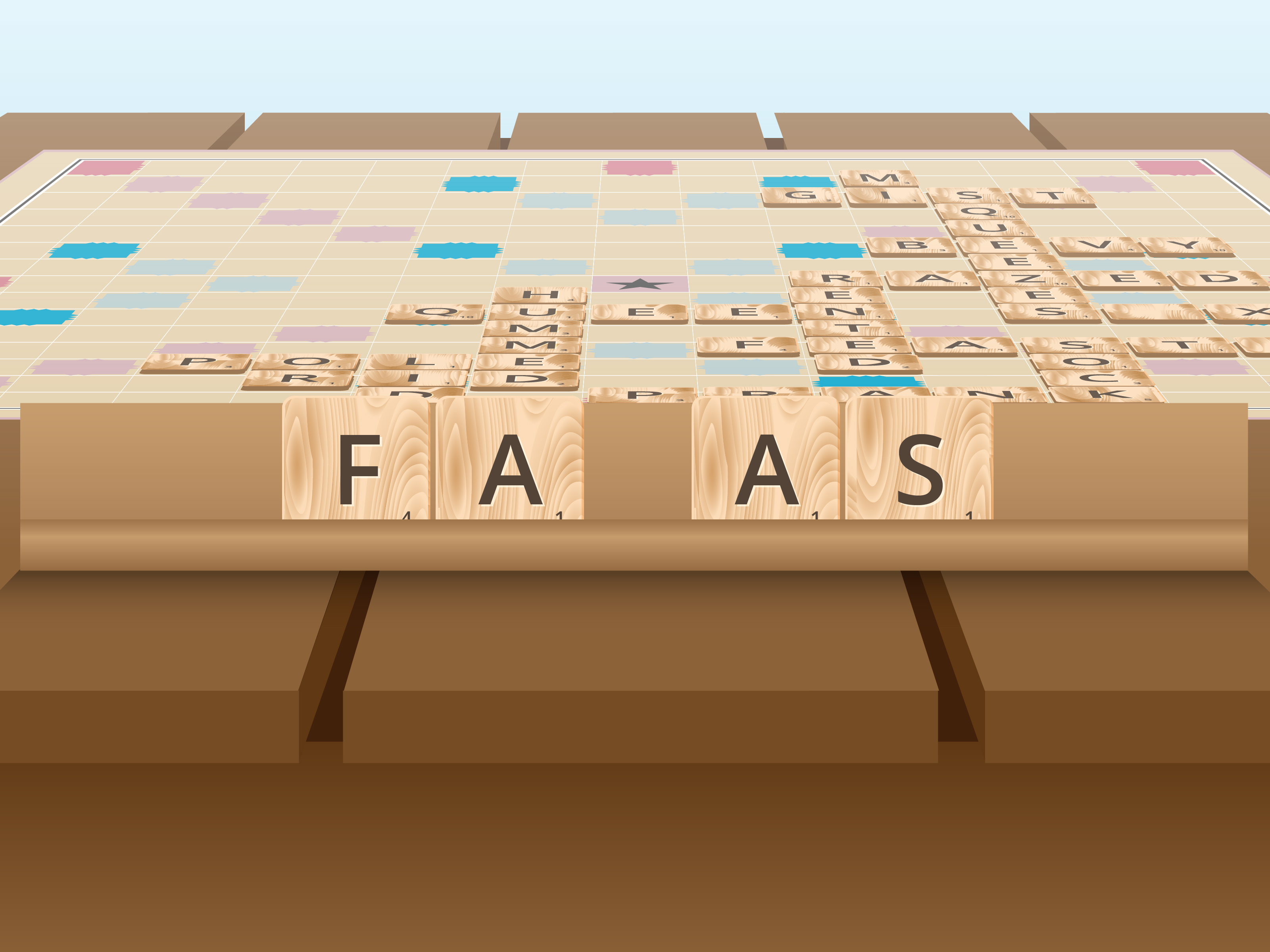 how to manage a rack in scrabble 14