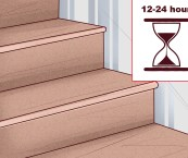 how to do steps with laminate flooring