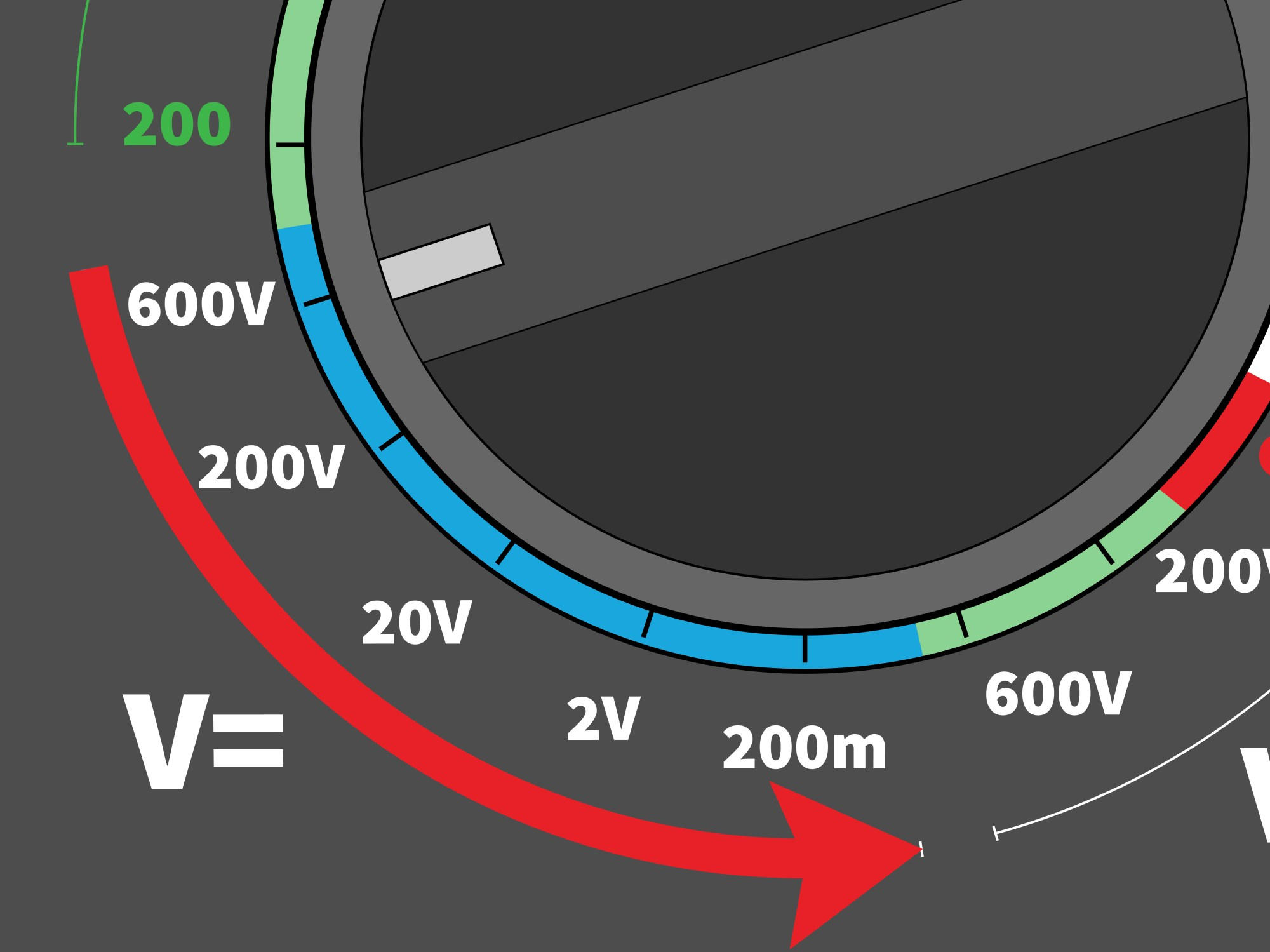 hight resolution of 3 ways to read a digital ohm meter wikihow 27k meter wiring diagram form