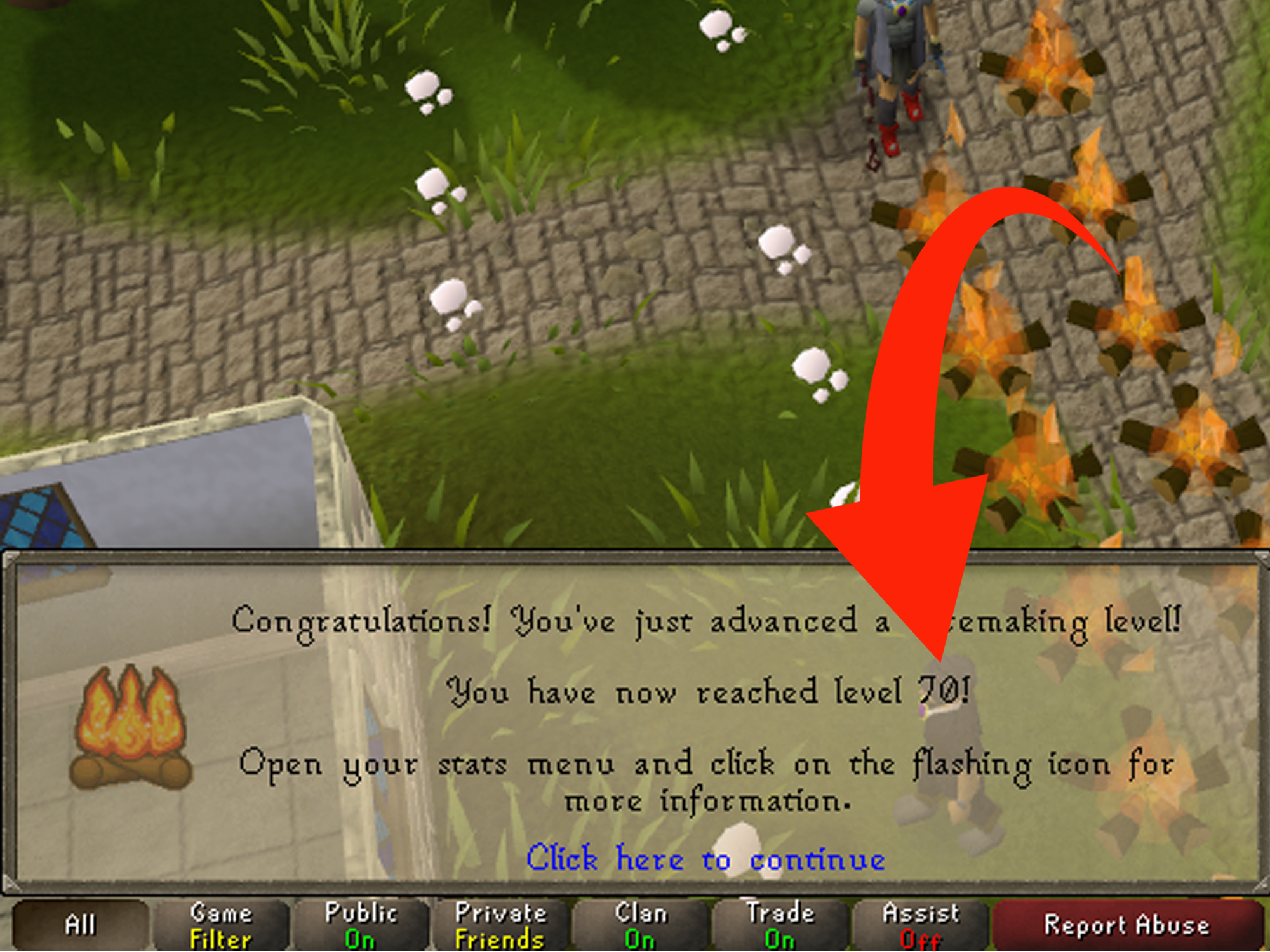 How To Get Your Woodcutting And Firemaking Up Fast On RuneScape