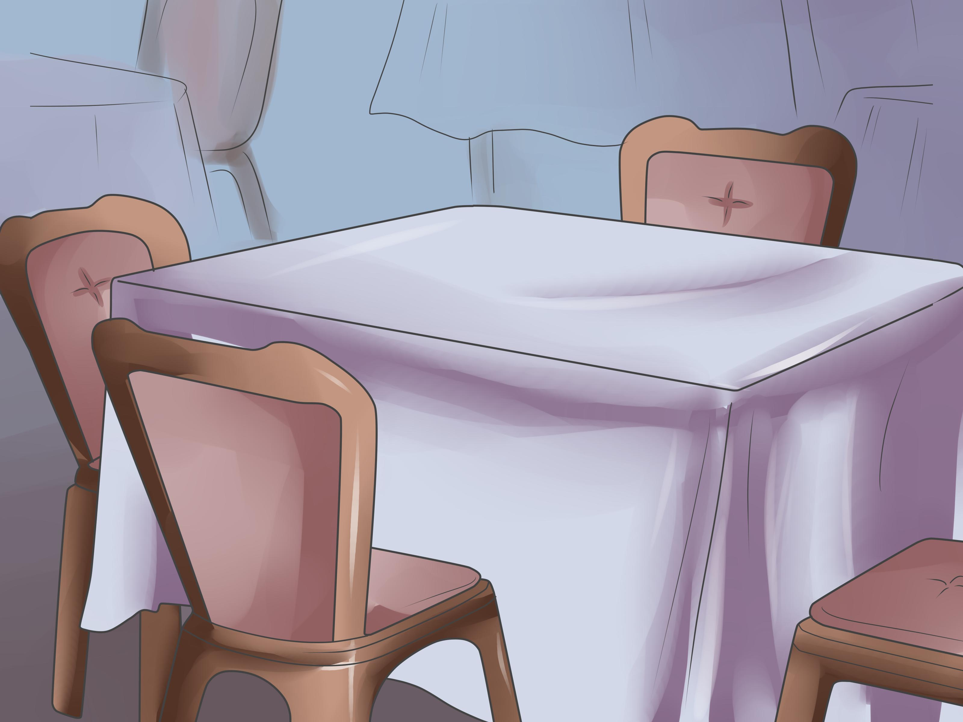 places to borrow tables and chairs modern dining how set a table for tea party with pictures wikihow