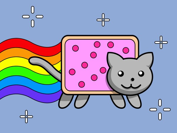 Draw Nyan Cat 10 Steps With - Wikihow