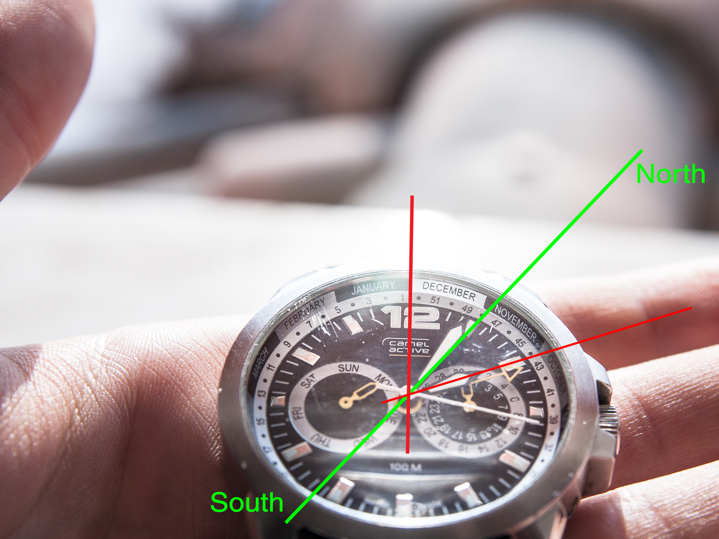 How To Use Anog Watch As A Compass 8 Steps With