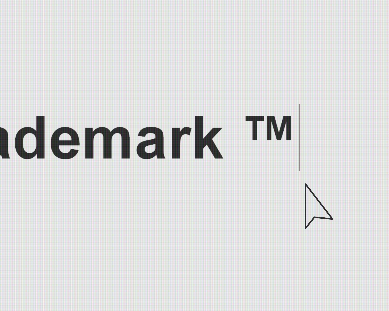 5 Ways To Type The Trademark Symbol