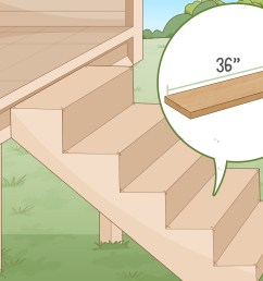 how to build deck stairs [ 3200 x 2400 Pixel ]