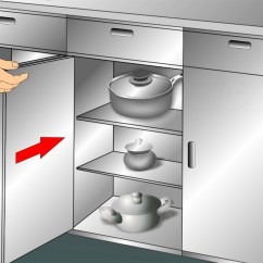 What To Use Clean Kitchen Cabinets Shelf For 3 Ways Wikihow