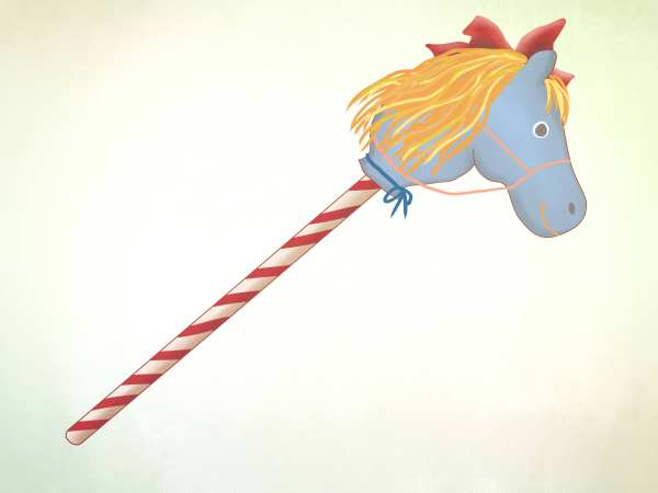 2 Easy Ways to Make a Stick Horse with Pictures wikiHow
