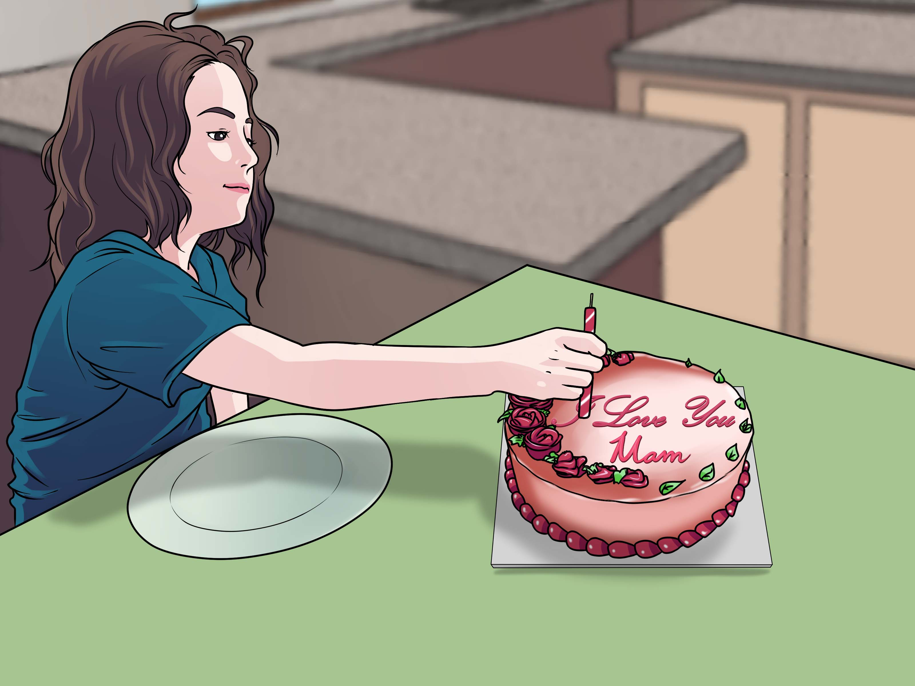 How To Decorate Birthday Cakes With Pictures