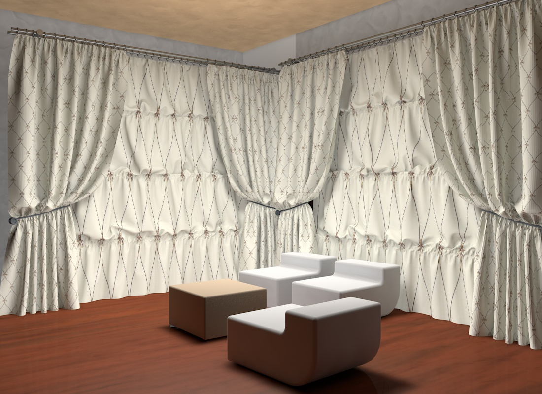 19 Cute Photos Of Hanging Curtains  Homes Alternative
