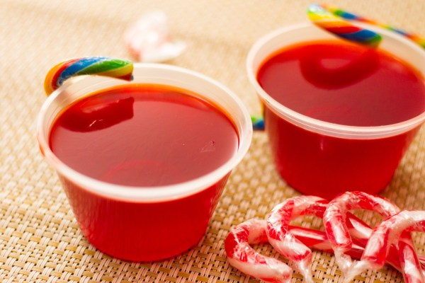 Make Peppermint Jello Shots 9 Steps