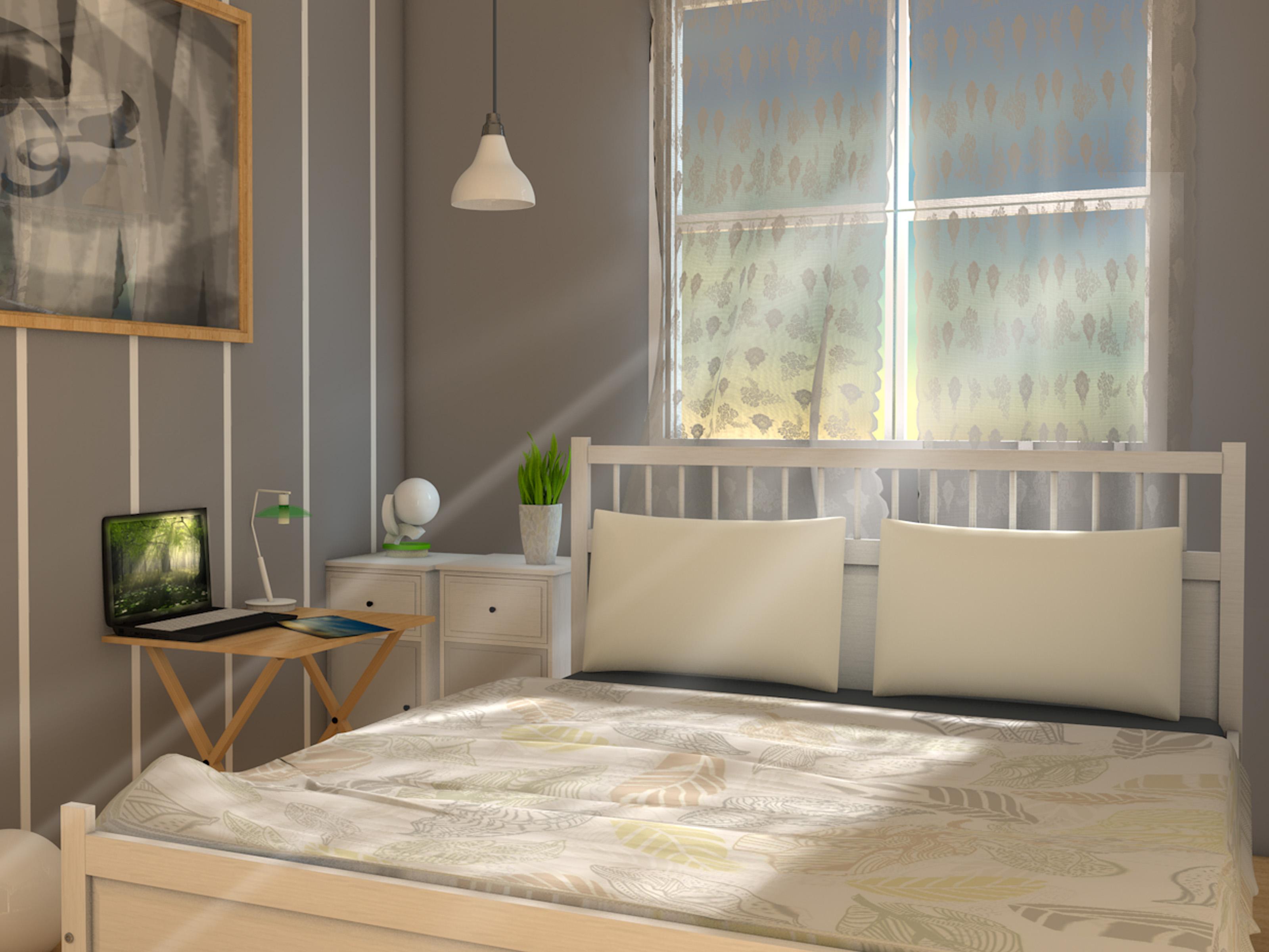 Ein kleines Schlafzimmer kostengnstig einrichten  wikiHow