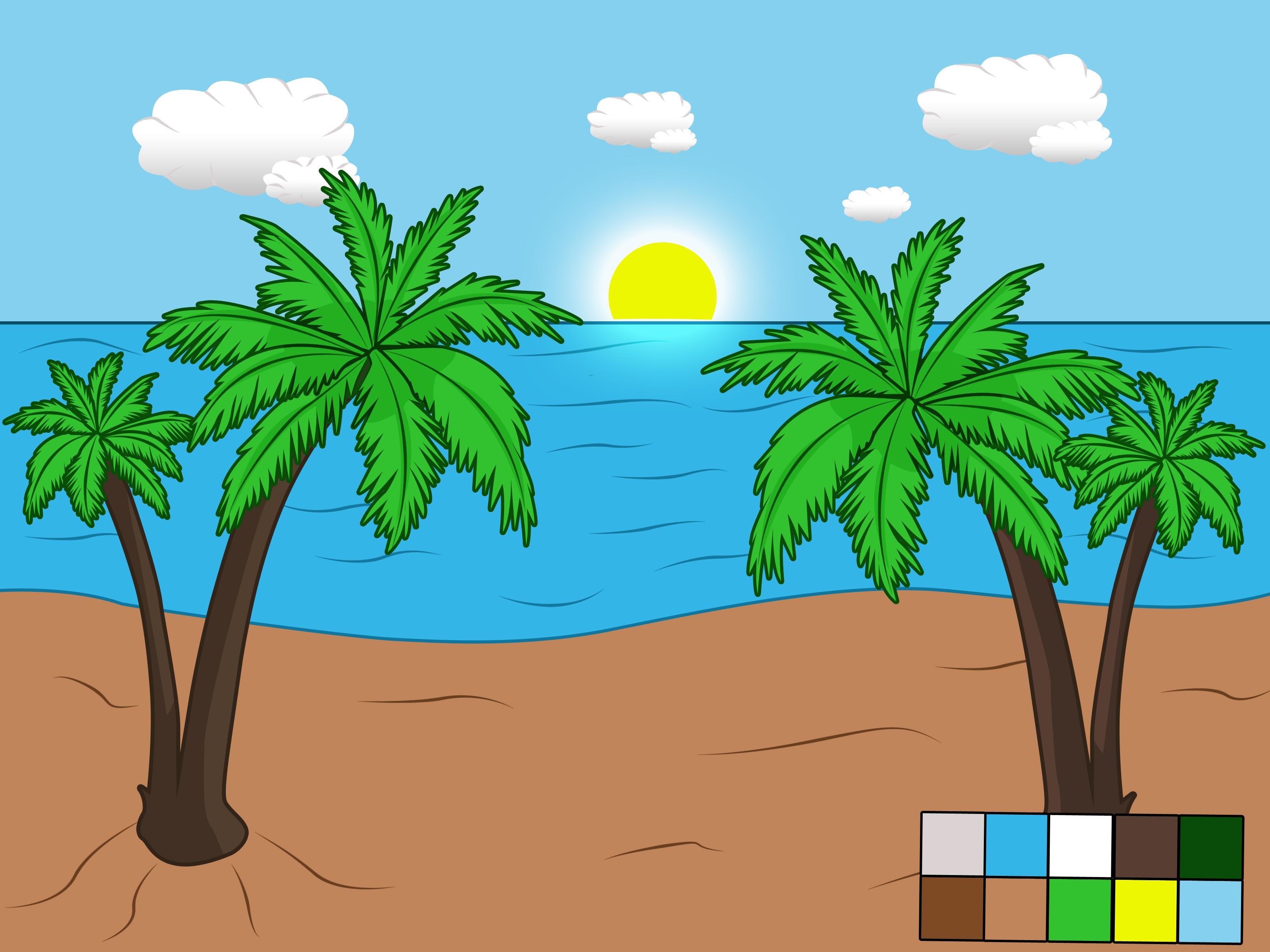 Come Disegnare un Paesaggio Balneare 6 Passaggi