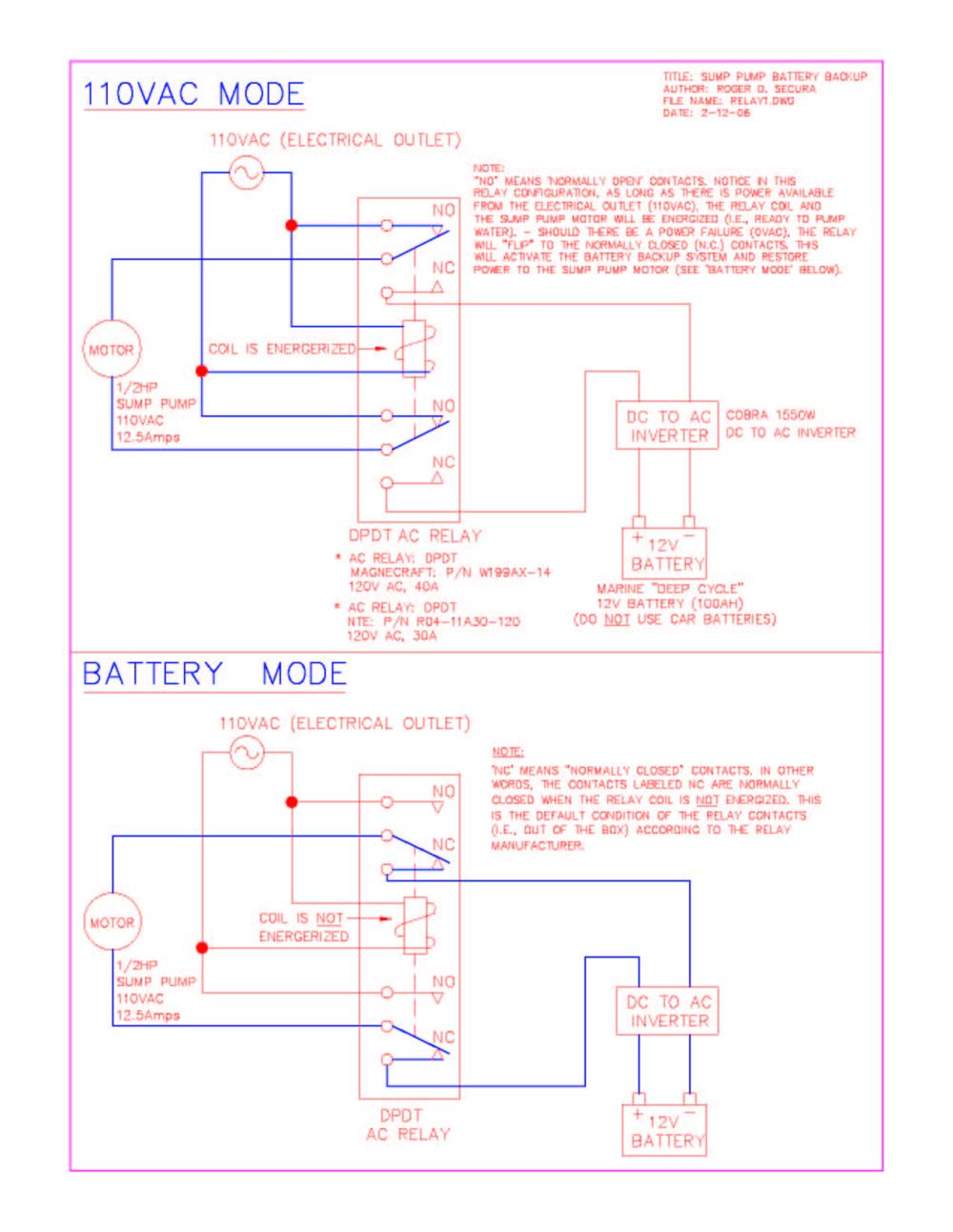 medium resolution of how to design a sump pump battery backup system