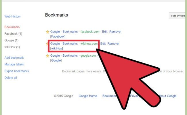 3 Ways To Access Bookmarks On Google Chrome Wikihow