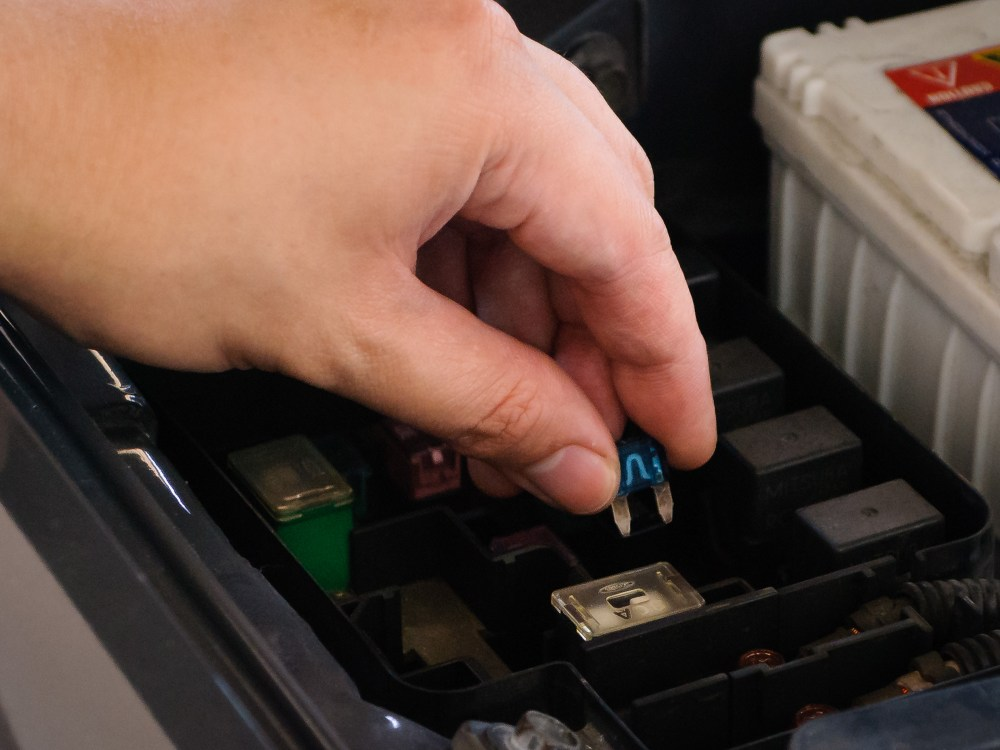medium resolution of burnt fuse box home